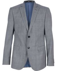 Moschino Two Button Suit - Gray