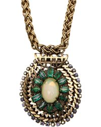 Nicole Romano - Indus Oval Necklace - Lyst