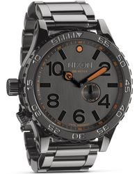 Nixon The 51-30 Watch, 52.25Mm - Lyst