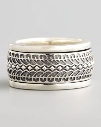 Stephen Webster - Silver Tire Spinner Ring - Lyst