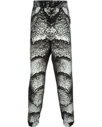 Christopher Kane - Scaly Print Trousers - Lyst