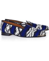 Cobra Society Najet Woven Loafers - Lyst