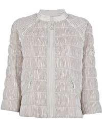 Moncler Gamme Rouge Short Pleated Jacket - Lyst