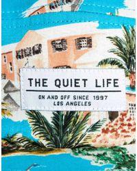 The Quiet Life Bermuda Cap - Blue