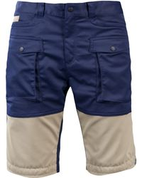 White Mountaineering - Shorts in Navy - Lyst