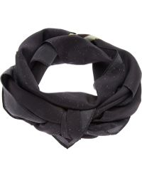 Anntian - Palm Printed Scarf - Lyst