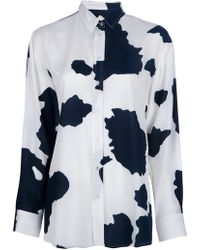 Back by Ann-Sofie Back - Cow Print Blouse - Lyst