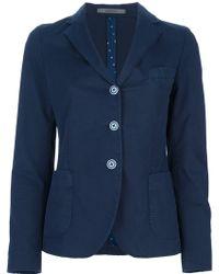 Boglioli Buttoned Blazer - Blue