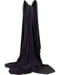 Maison Rabih Kayrouz Long Charmeuse Dress - Lyst