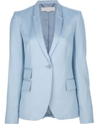Stella McCartney Blazer and Flared Leg Fit Suit - Blue