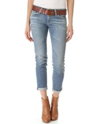 AG Adriano Goldschmied Stilt Roll Up Jeans - Lyst