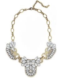 BaubleBar - Gold Iced Mademoiselle Necklace - Lyst