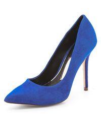 Boutique 9 Justine Suede Pumps - Blue