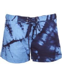 Boy by Band of Outsiders - Tiedye Shorts - Lyst