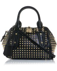 Burberry Prorsum - Blaze Studded Patent leather Bag - Lyst