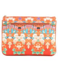 Camilla | Endless Summer Small Zip Clutch | Lyst