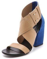 CoSTUME NATIONAL - Dora High Sandals - Lyst