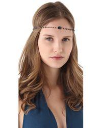 Dauphines of New York - September Birthday Party Headband - Lyst