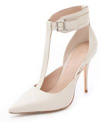 Elizabeth and James - Saucy Ankle Cuff Pumps - Lyst