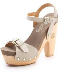 Flogg - Cassie Platform Clog Sandals - Lyst