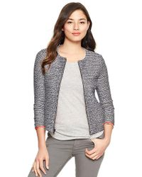 Gap Tweed Jacket - Gray