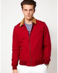 Hentsch Man Aviator Jacket - Red