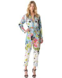 Jean Paul Gaultier - Kimono Jumpsuit - Lyst