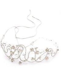 Jenny Packham Wonderland Headdress Ii - Metallic