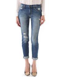 Joe's Jeans Renah Rolled Skinny Jeans - Lyst