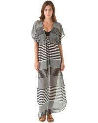 Josa Tulum - Rustic Cover Up Dress - Lyst