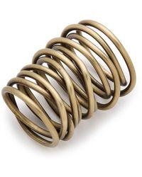 Kelly Wearstler - Twisted Brass Ring - Lyst