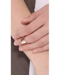 Kristen Elspeth Myth Knuckle Ring - Pink
