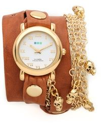 La Mer Collections - Skull Charms Wrap Watch - Lyst