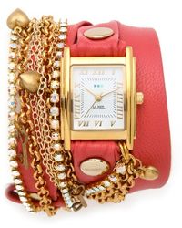 La Mer Collections - Tokyo Crystal Wrap Watch - Lyst