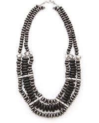 Made Her Think - Caicos Beaded Necklace - Lyst