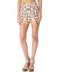 Mara Hoffman - High Waisted Shorts - Lyst