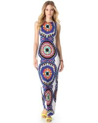 Mara Hoffman Pow Wow Cover Up Maxi Dress - Lyst