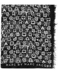 Marc By Marc Jacobs - Womens 867 Dreamy Grafitti Multi Scarf - Lyst