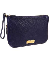 Marc By Marc Jacobs Washed Up Zip Clutch - Lyst