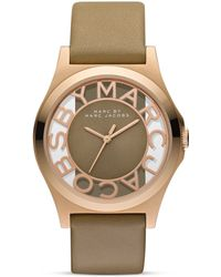 Marc By Marc Jacobs Henry Skeleton Watch, 40Mm - Lyst