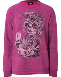 Marc Jacobs Cotton Printed Sweatshirt - Lyst