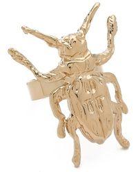 McQ - Bug Ring - Lyst
