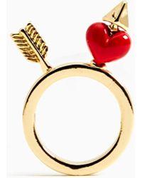 Nasty Gal Cupid Ring - Lyst