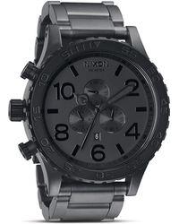 Nixon The 51 - 30 Chrono Watch - Black