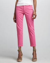 Not Your Daughter's Jeans Audriana Skinny Ankle Jeans - Pink