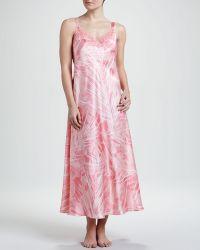 Oscar de la Renta Escape To Tahiti Gown - Lyst