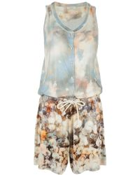 Paul Smith - Printed Jumpsuit - Lyst