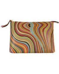 Paul Smith Womens Medium Swirl Makeup Bag - Multicolour