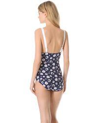 Pret-a-surf - Floral One Piece Swimsuit - Lyst