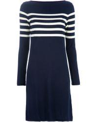 Ralph Lauren Blue Label - Striped Dress - Lyst